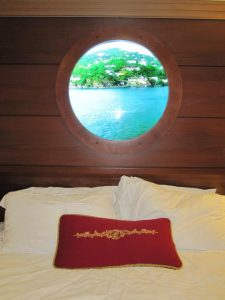 Cruise Ship Port Hole View