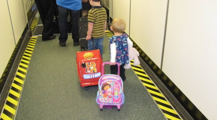 Simple Tips for Flying with Children
