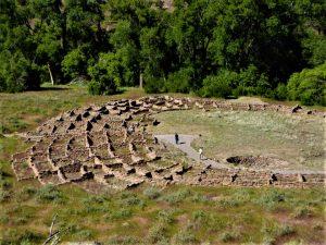 Family Trip to Santa Fe Pueblo Structures