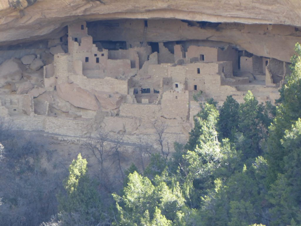 Cliff Dwellings Mesa Verde Sun Temple
