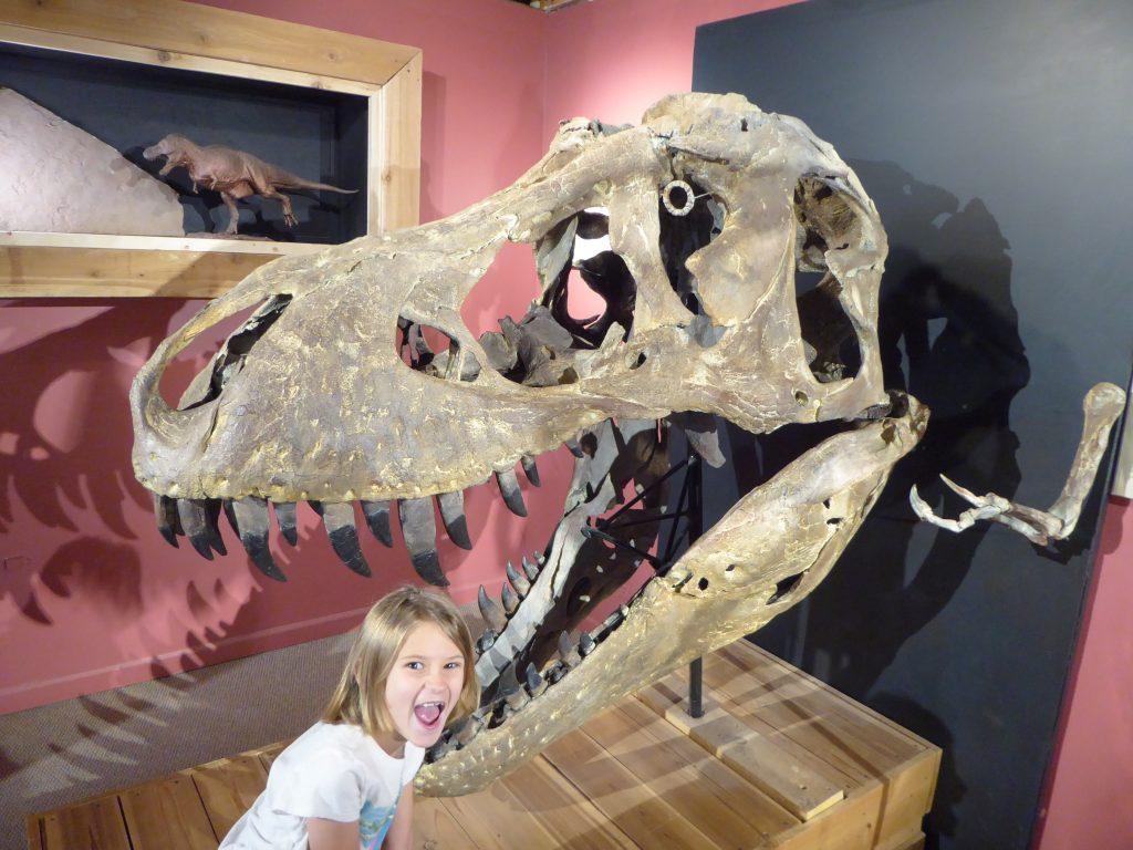 Morrison Natural History Museum T-Rex