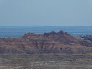 National Parks of South Dakota Vistas of the Badlands