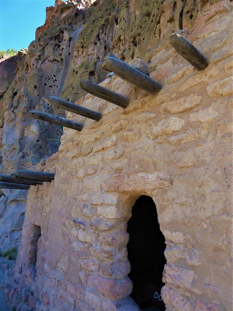 Bandelier Park in New Mexico