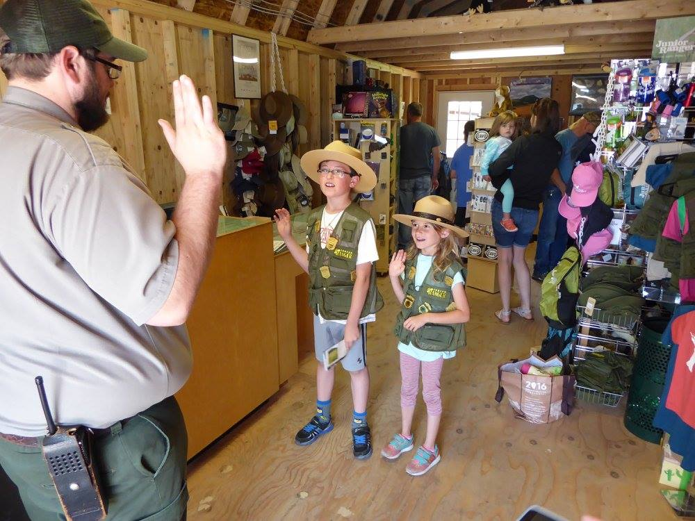 New Rangers at Capulin Volcano