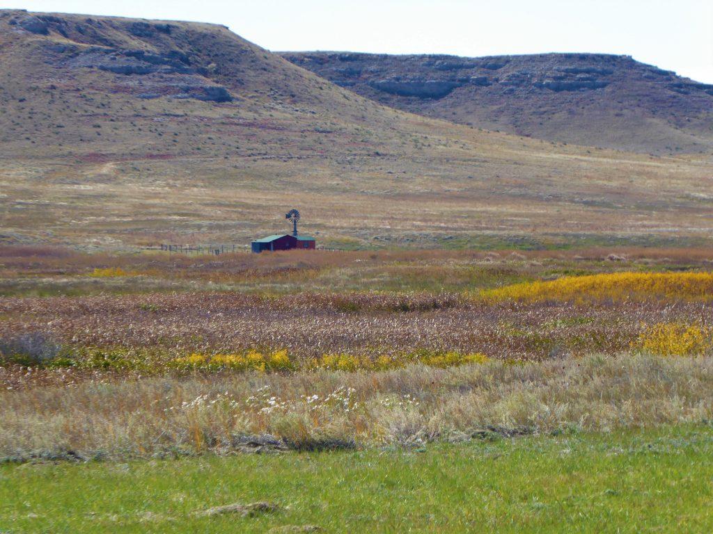 Vacation in Nebraska Agate Fossil Beds farmhouse