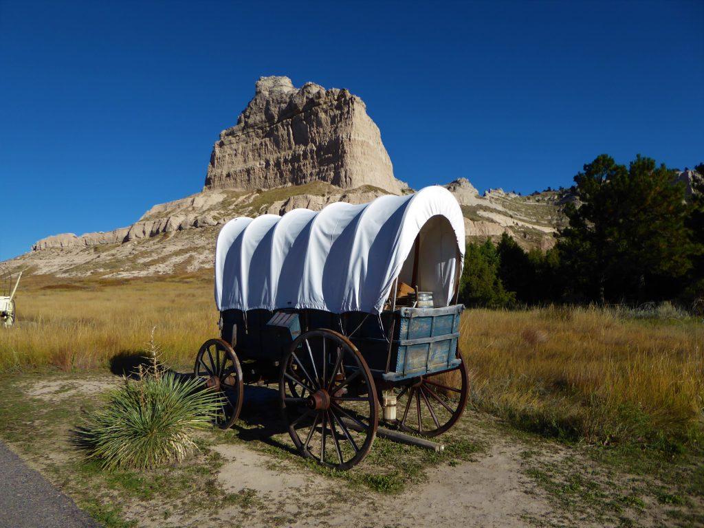 Vacation in Nebraska Wagons Ho