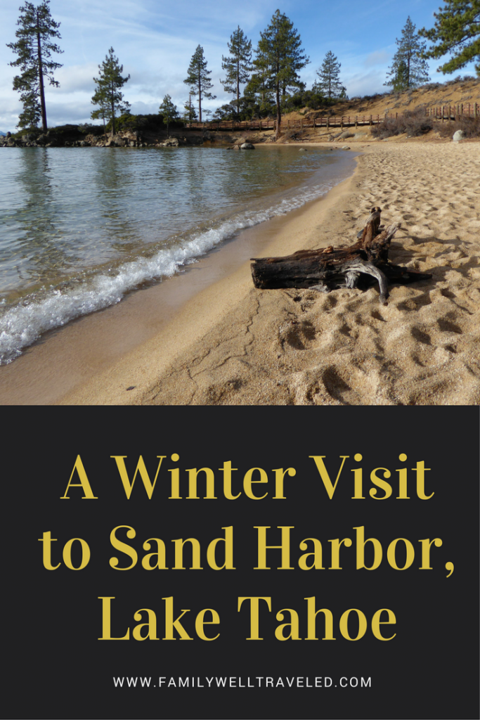 Winter Visit to Lake Tahoe's Sand Harbor