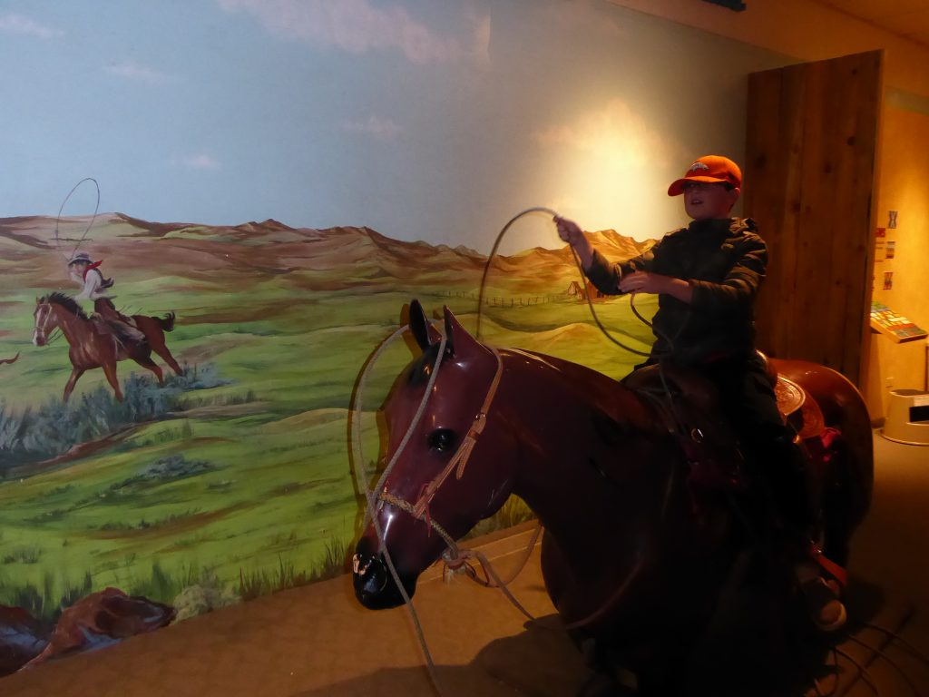 Buffalo Bill Museum and Grave Cattle Roping