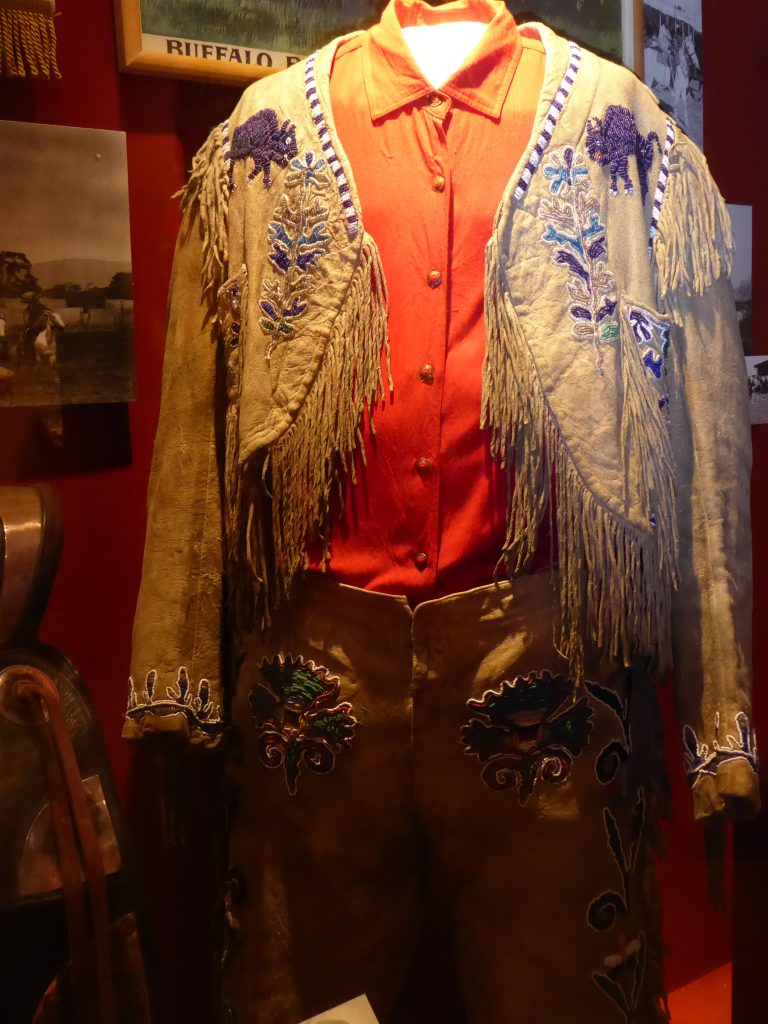 Buffalo Bill Museum and Grave Buffalo Bill Cody's show costume