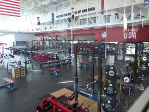 U.S. Olympic Training Center Workout facility