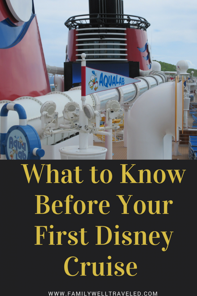 What to Know Before Your First Disney Cruise
