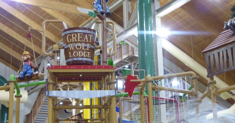 Great Family Fun at the Great Wolf Lodge