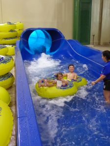 Great Wolf Lodge Colorado Springs Water slide riders