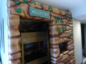 Bunk Bed Den at Great Wolf Lodge