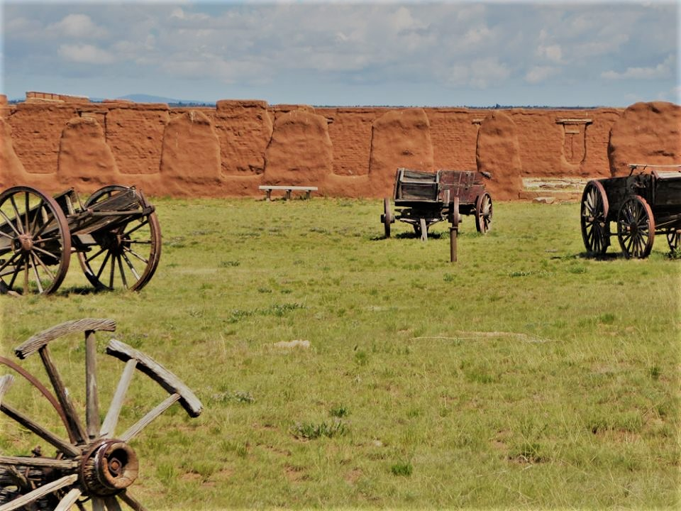 broken down wagons