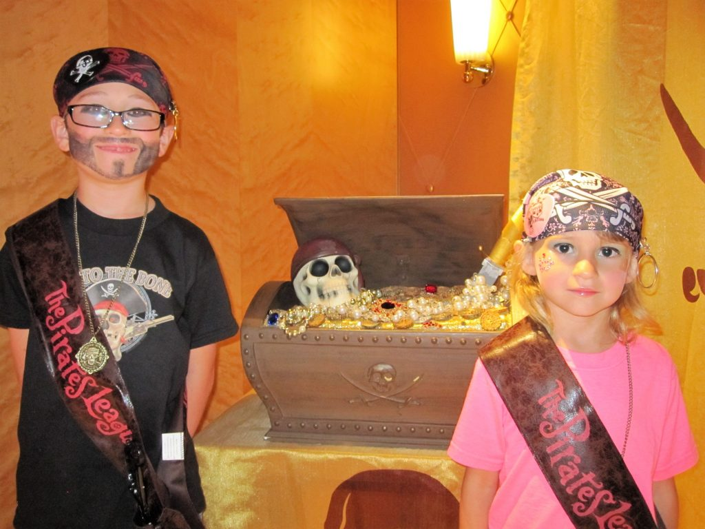 What to do on a Disney Cruise Pirate Night