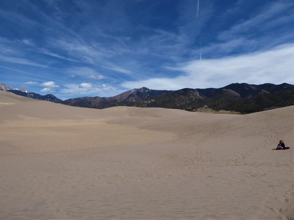 Great Sand Dunes Mountains
