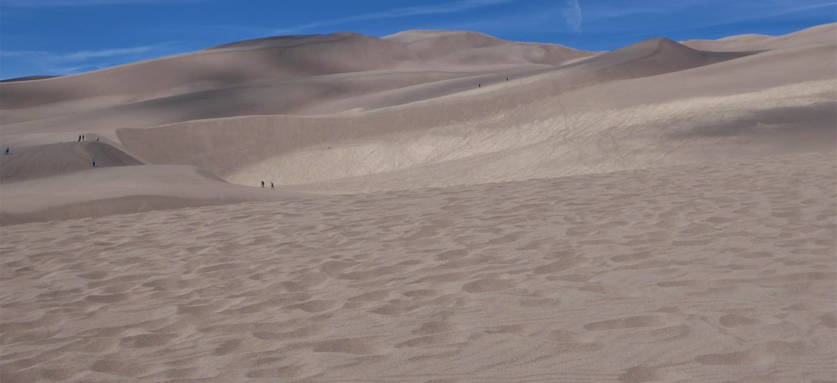 Sand Sledding (Sort Of) At Great Sand Dunes National Park