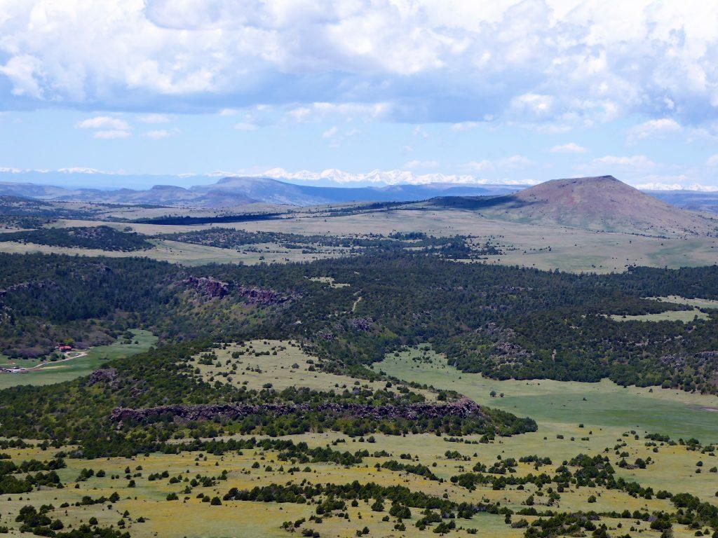 Capulin Volcano Scenery