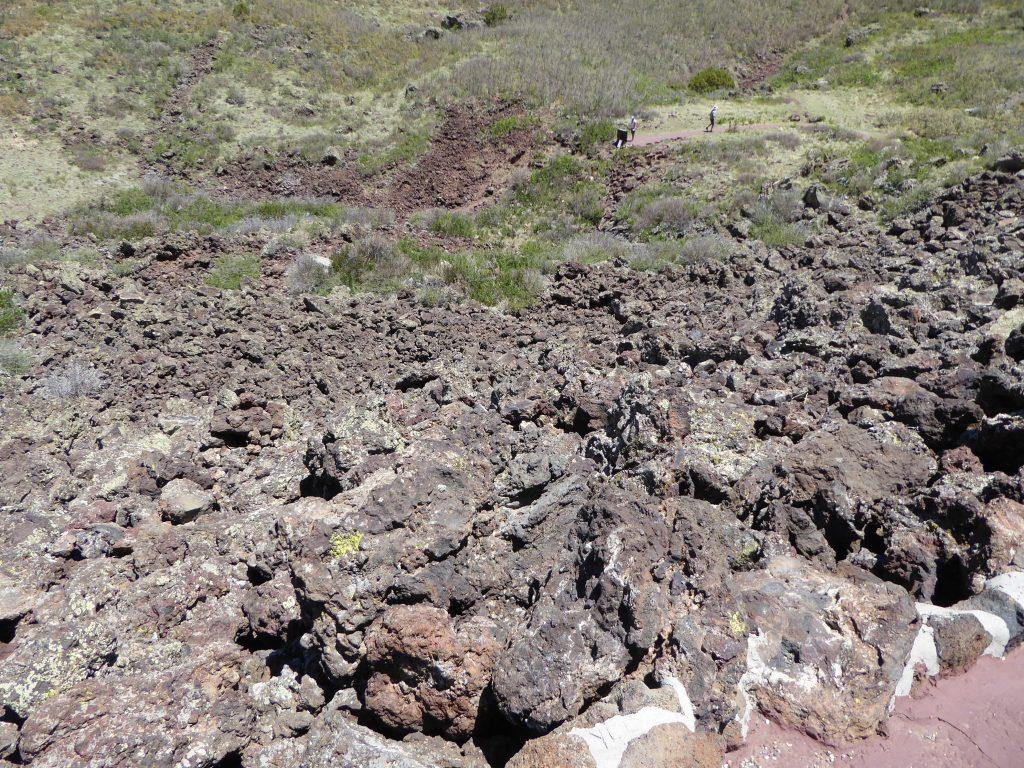 Capulin Volcano rock