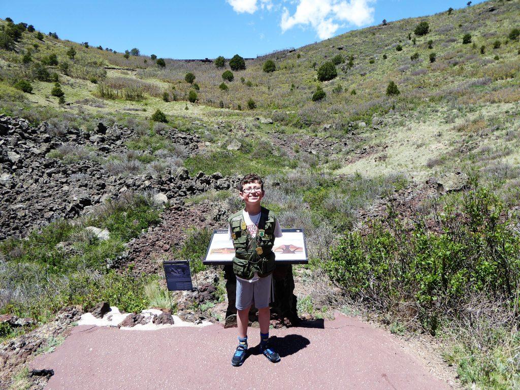 Capulin Volcano Crater Vent Trail