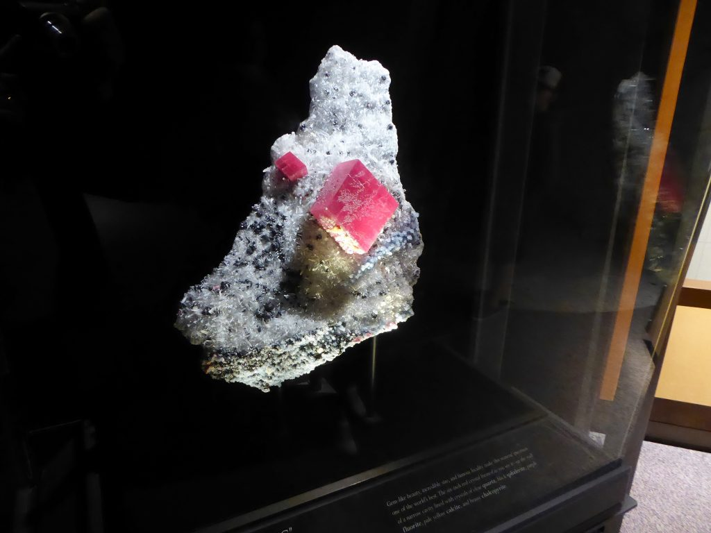 Denver Museum of Nature and Science Rhodochrosite