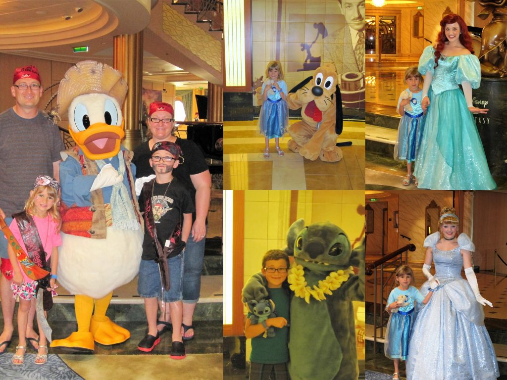 What to do on a Disney Cruise - Meet and Greet