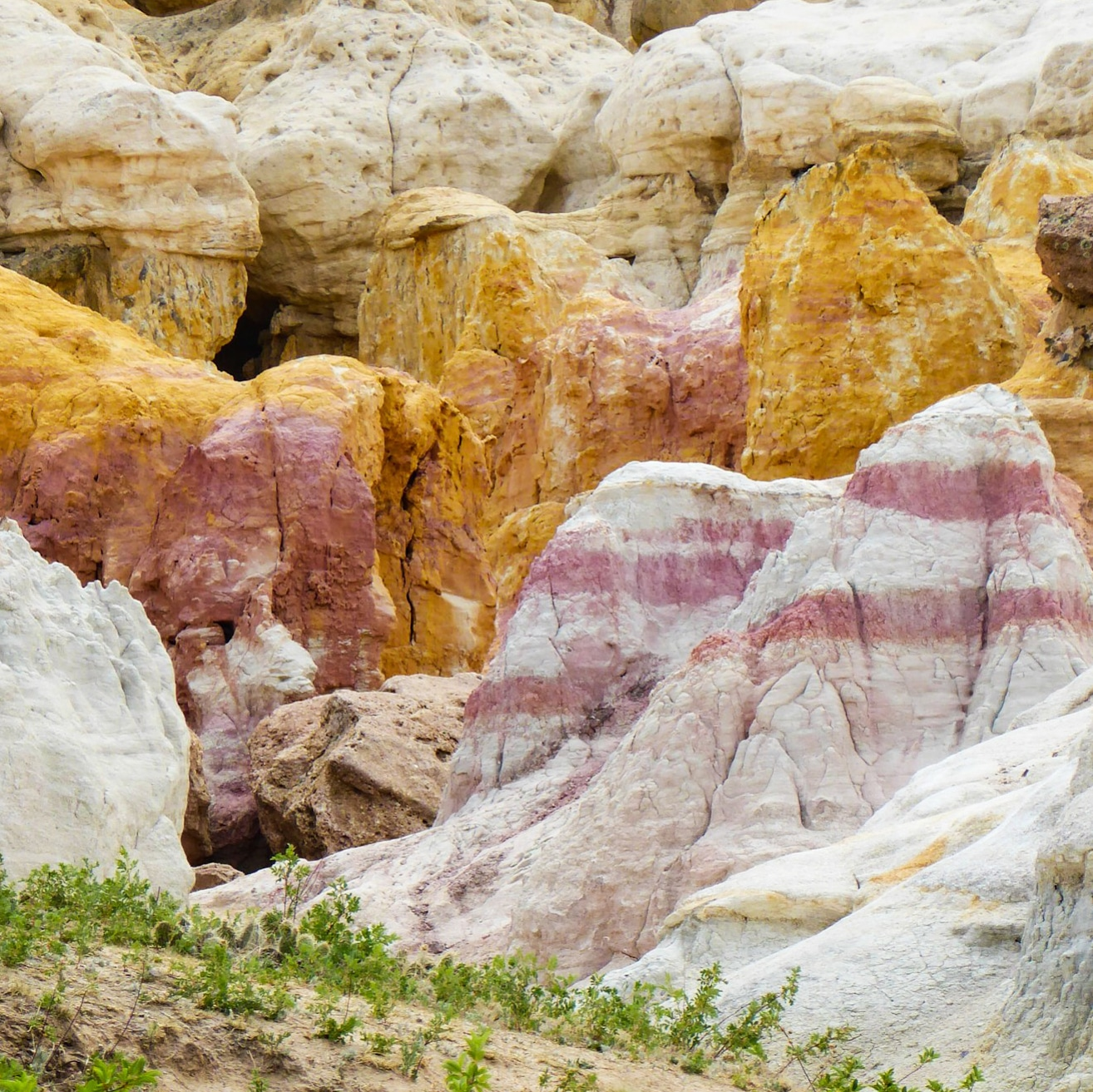 Unbelievable Splashes of Color at Colorado's Paint Mines Interpretive Park
