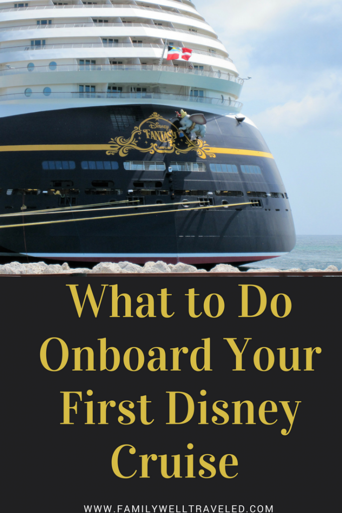 What to do on a Disney Cruise Pinterest