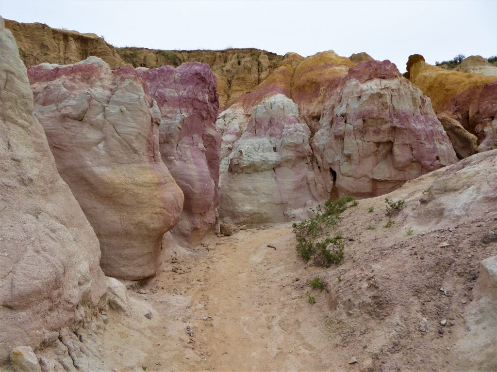 Paint Mines Interpretive Park Otherworldly Landscape