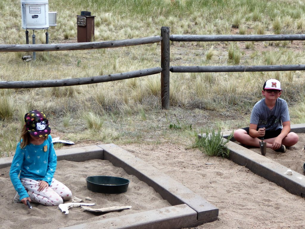 Florissant Fossil Beds Dig