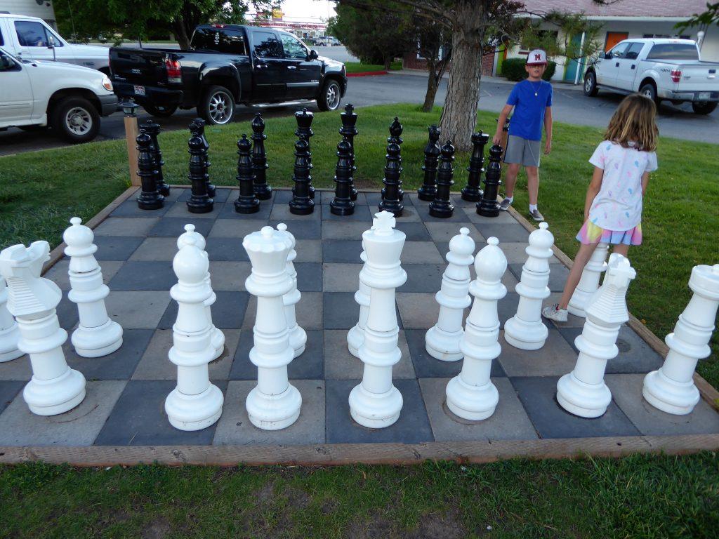Retro Inn Chess Board