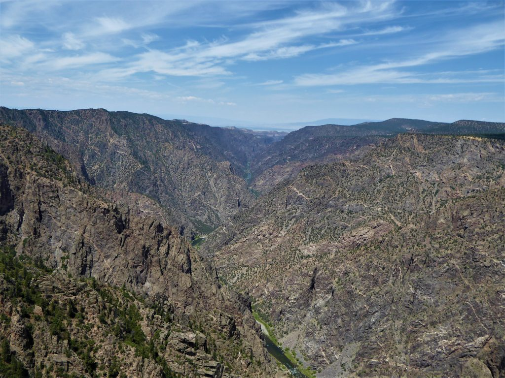 Black Canyon of the Gunnison National Park Sunset View