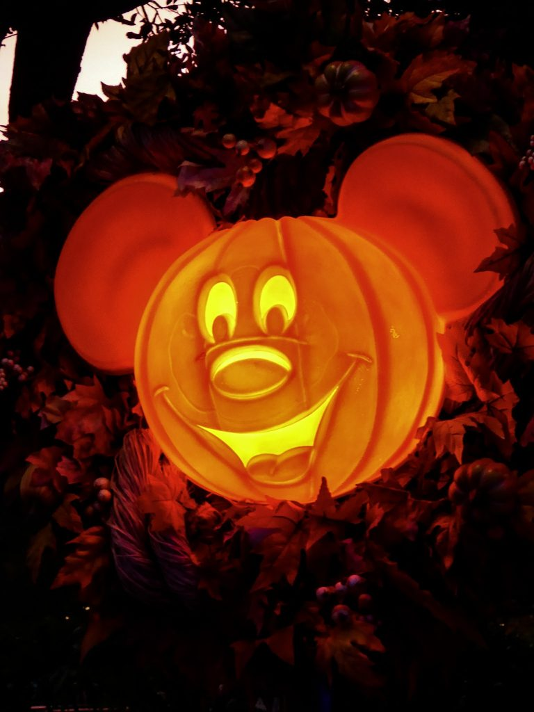 Disney's Not So Scary Halloween Party Mickey-O-Lantern