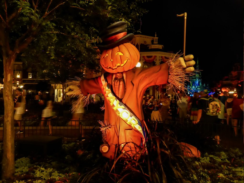 Disney's Not So Scary Halloween Party Scarecrow Mayor