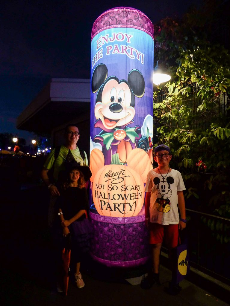 Disney's Not So Scary Halloween Party Trick-or-Treat Station