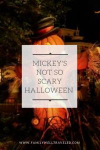 Mickey's Not So Scary Halloween in Orlando, FL