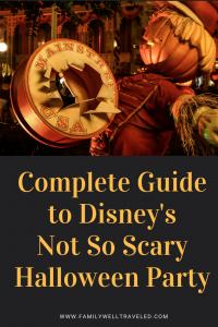 Disney's Not So Scary Halloween Party at the Magic Kingdom in Orlando, Florida, USA