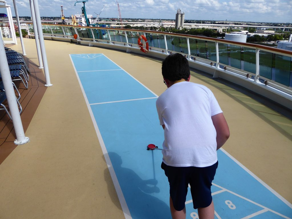 Brilliance of the Seas Shuffleboard
