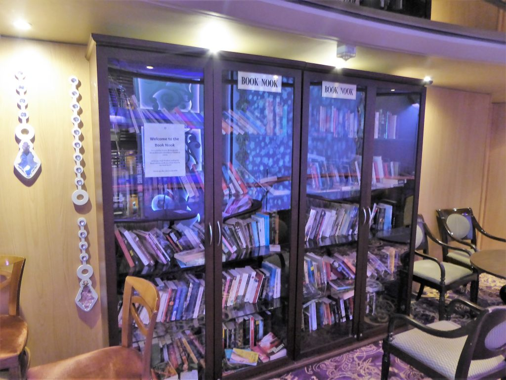 Brilliance of the Seas Book Nook