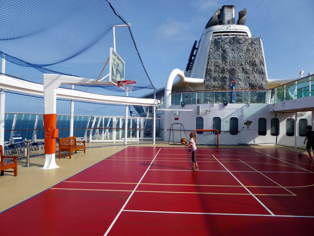 Brilliance of the Seas Sports Court