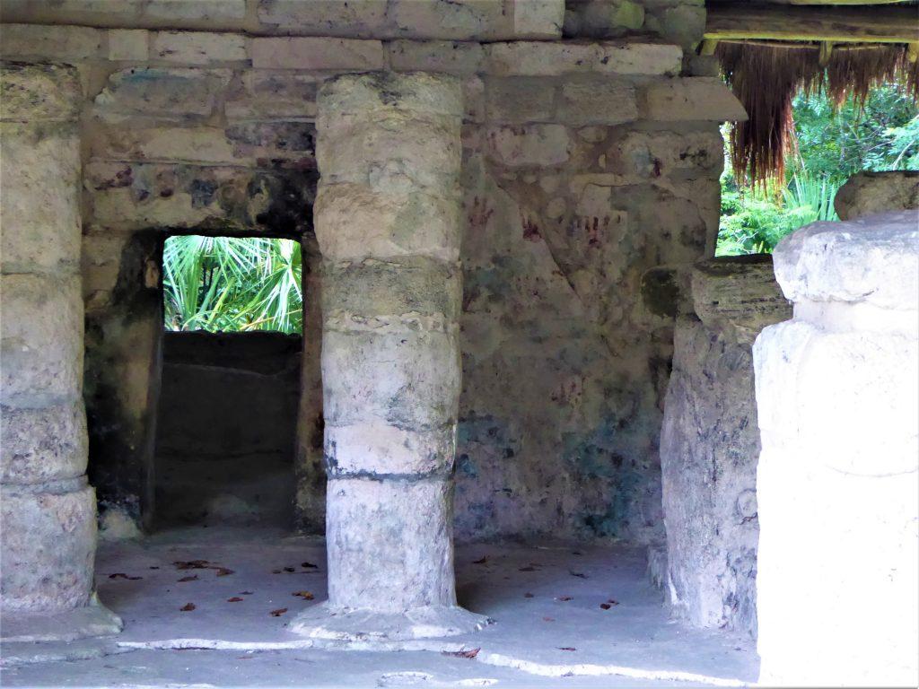Mayan Ruins of San Gervasio Red Hands