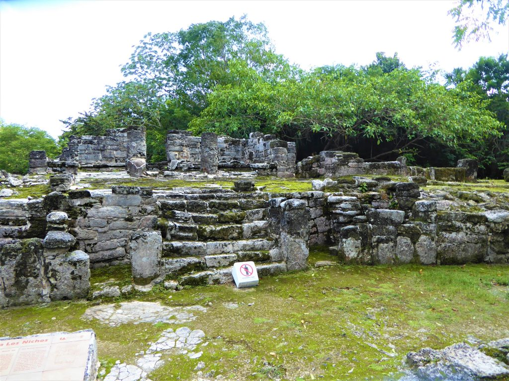 Mayan Ruins of San Gervasio District 1 Central Plaza