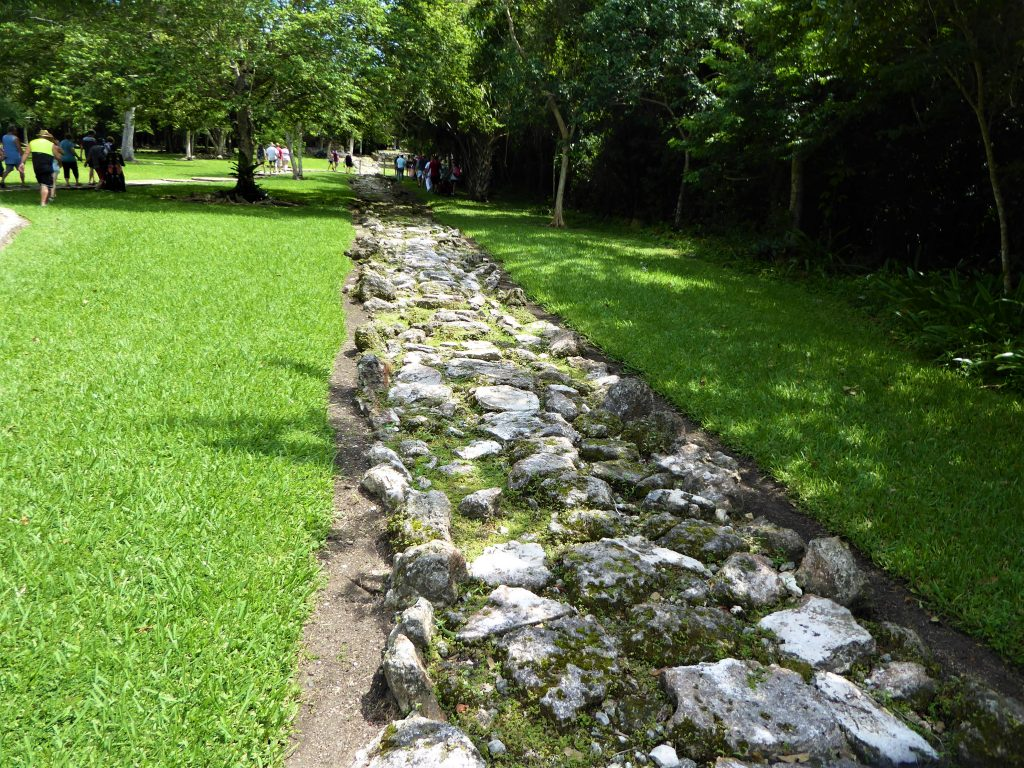 Mayan Ruins of San Gervasio White Road
