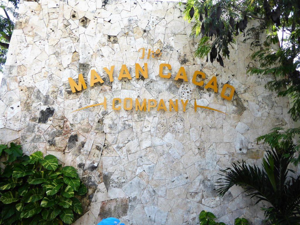 Mayan Cacao Company Entrance