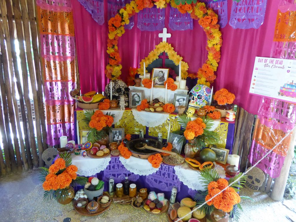 Mayan Cacao Company Altar