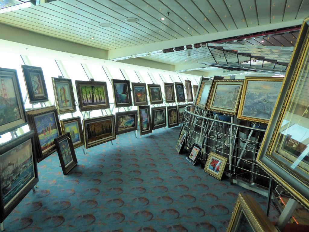 Brilliance of the Seas Park West Auction