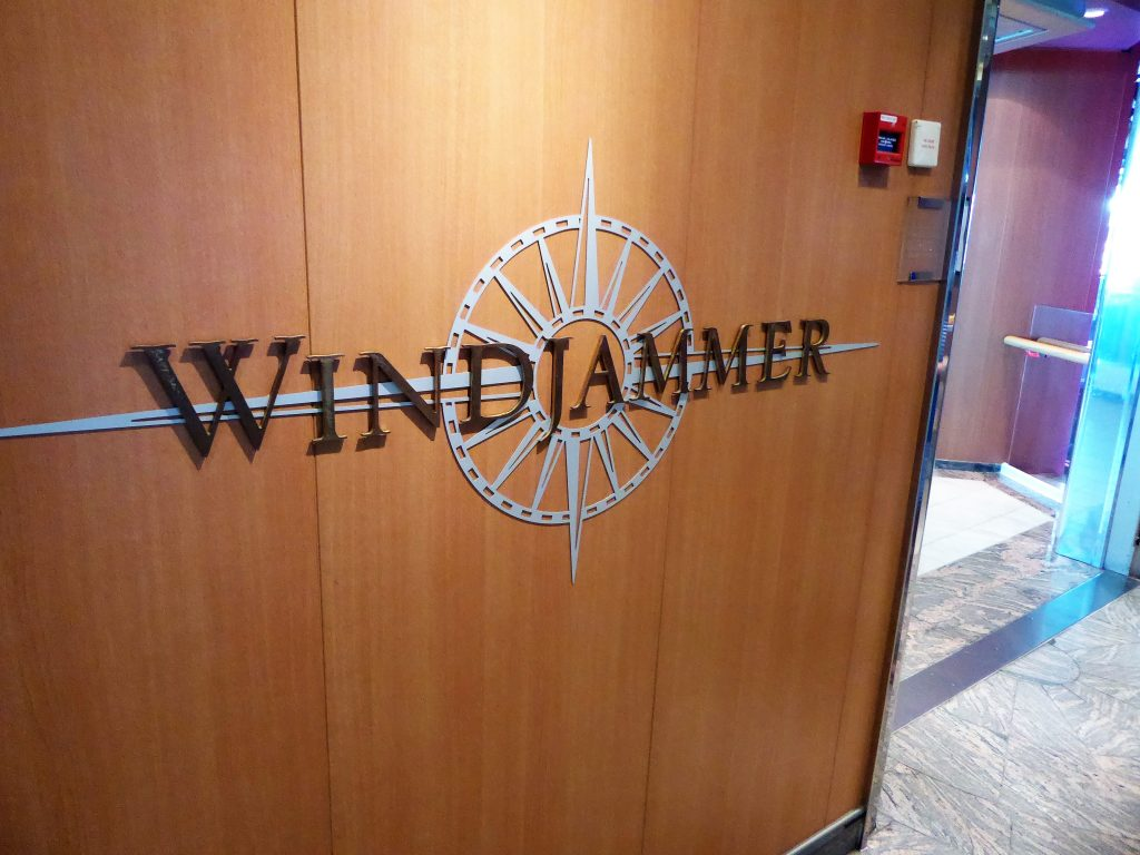 Brilliance of the Seas Windjammer