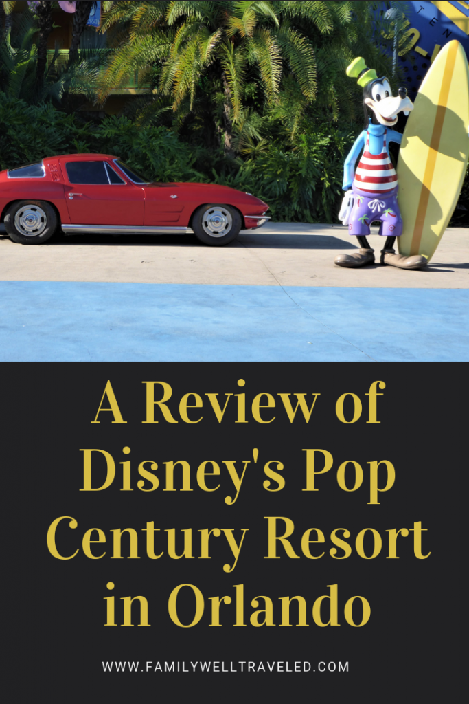 Disney's Pop Century Resort, Orlando Florida