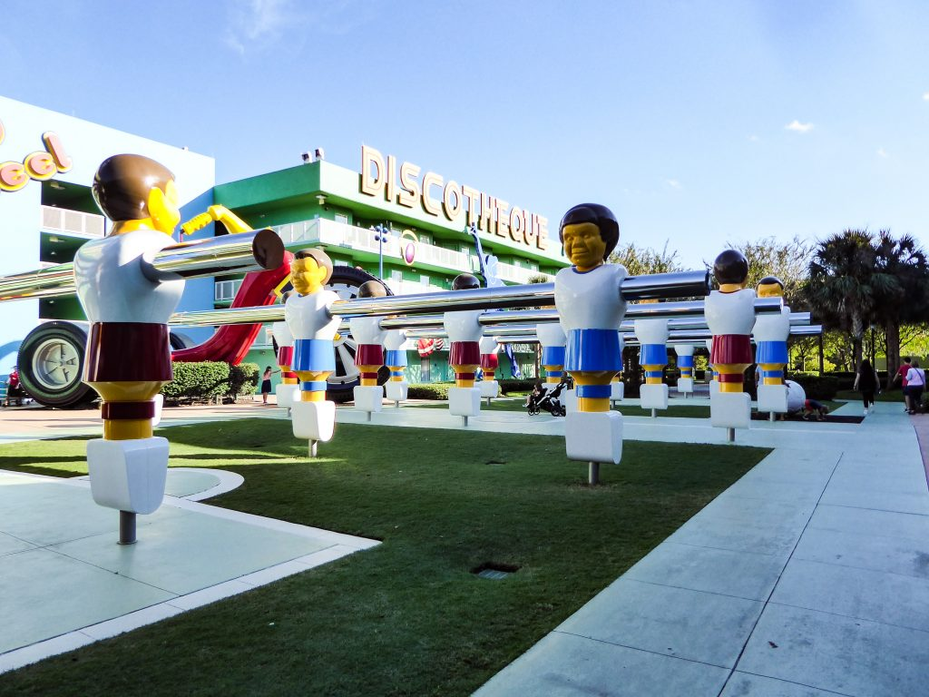 Disney's Pop Century Resort Foosball